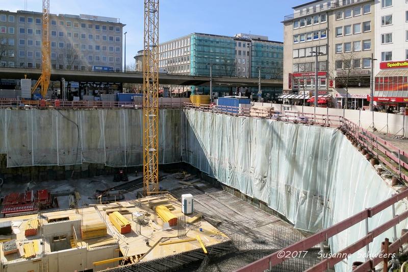 Baustelle Bahnhofsplatz 102