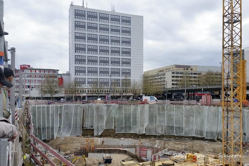 Baustelle Bahnhofsplatz 104