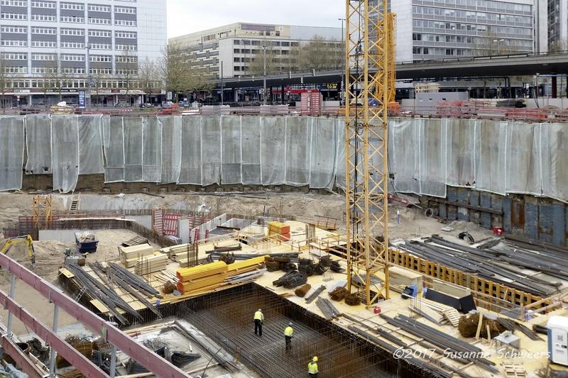 Baustelle Bahnhofsplatz 106