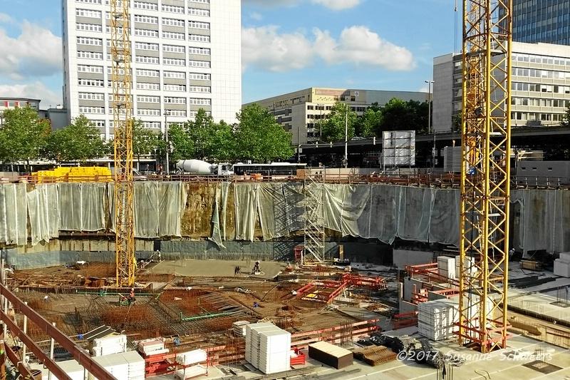 Baustelle Bahnhofsplatz 120