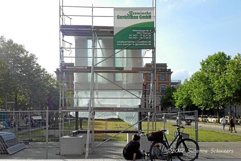 Baustelle Bahnhofsplatz 125