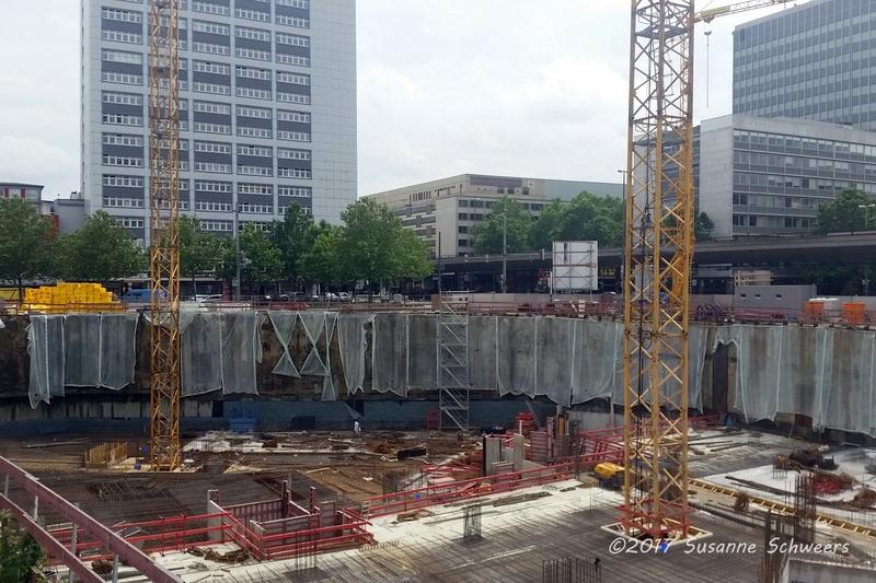 Baustelle Bahnhofsplatz 128