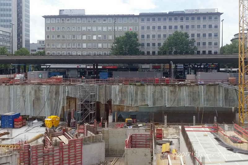 Baustelle Bahnhofsplatz 129