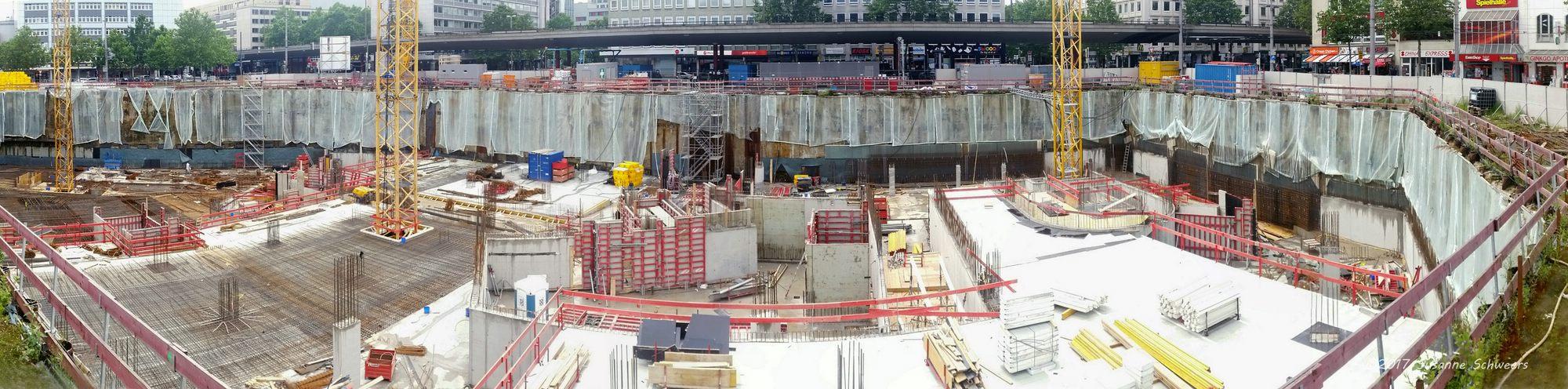 Baustelle Bahnhofsplatz 134