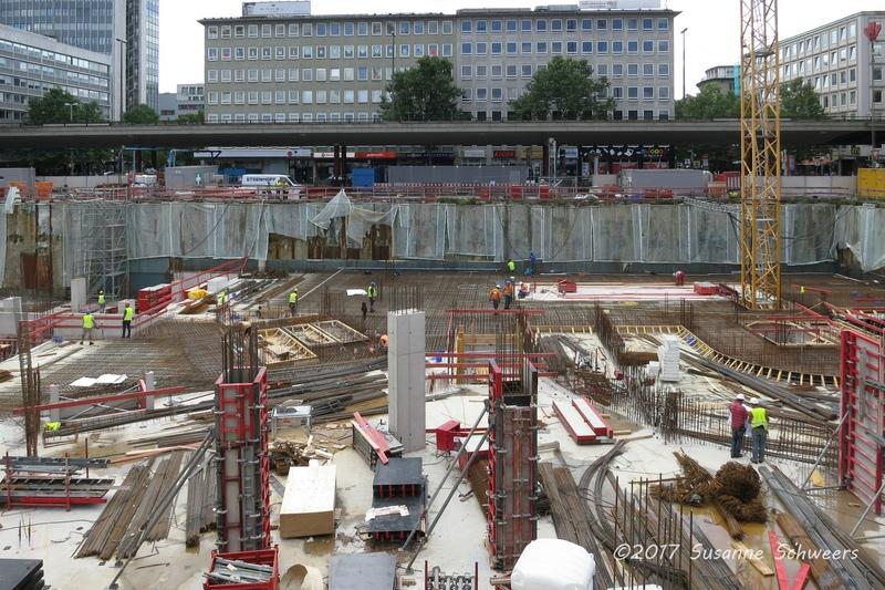 Baustelle Bahnhofsplatz 136