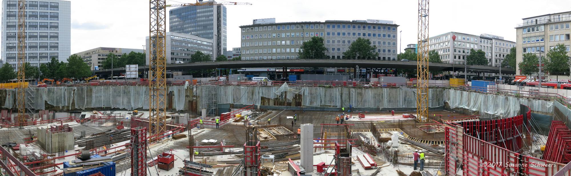 Baustelle Bahnhofsplatz 146