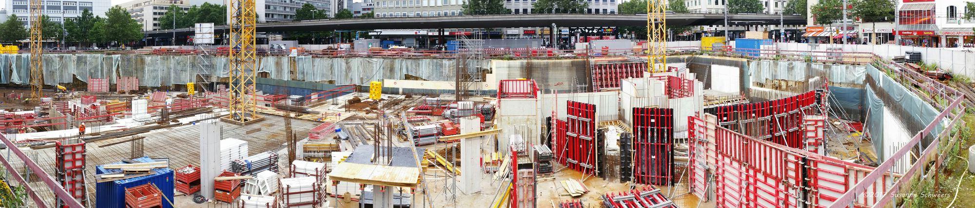 Baustelle Bahnhofsplatz 151