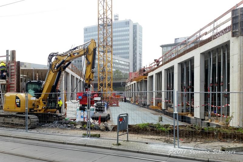 Baustelle Bahnhofsplatz 181