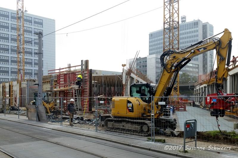 Baustelle Bahnhofsplatz 182