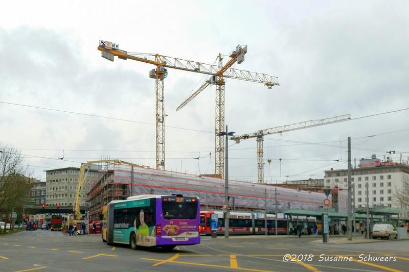 Baustelle Bahnhofsplatz 190