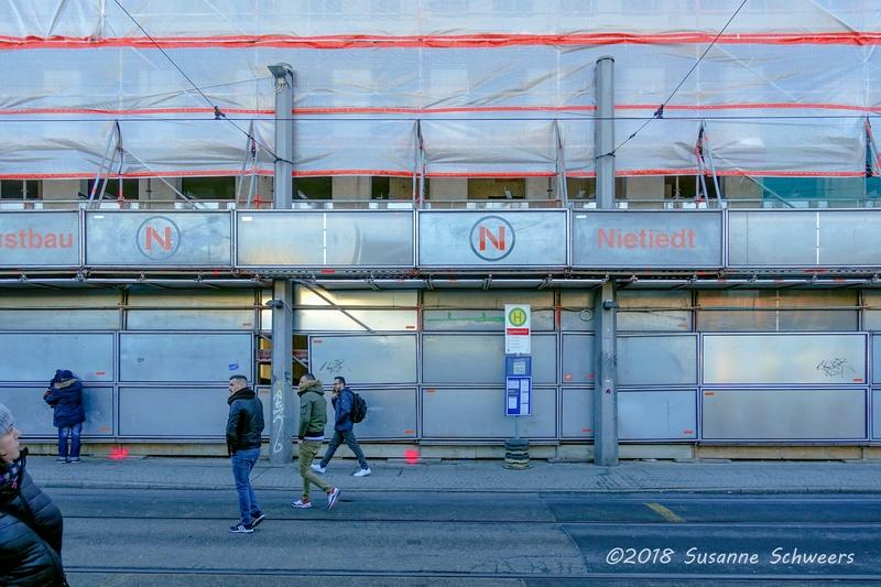 Baustelle Bahnhofsplatz 209