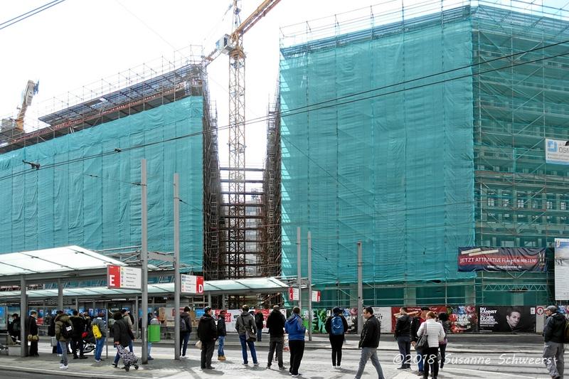 Baustelle Bahnhofsplatz 225