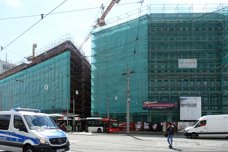 Baustelle Bahnhofsplatz 226
