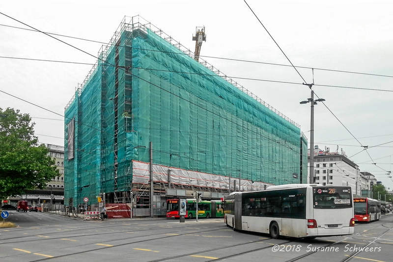 Baustelle Bahnhofsplatz 238