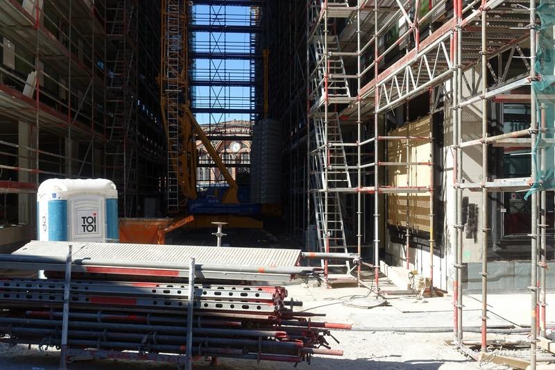 Baustelle Bahnhofsplatz 253