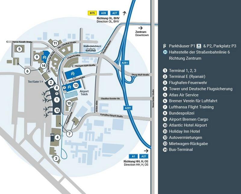 Plan FlughafenHB