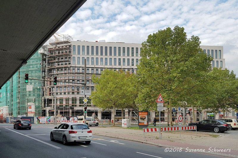 Baustelle Bahnhofsplatz 302
