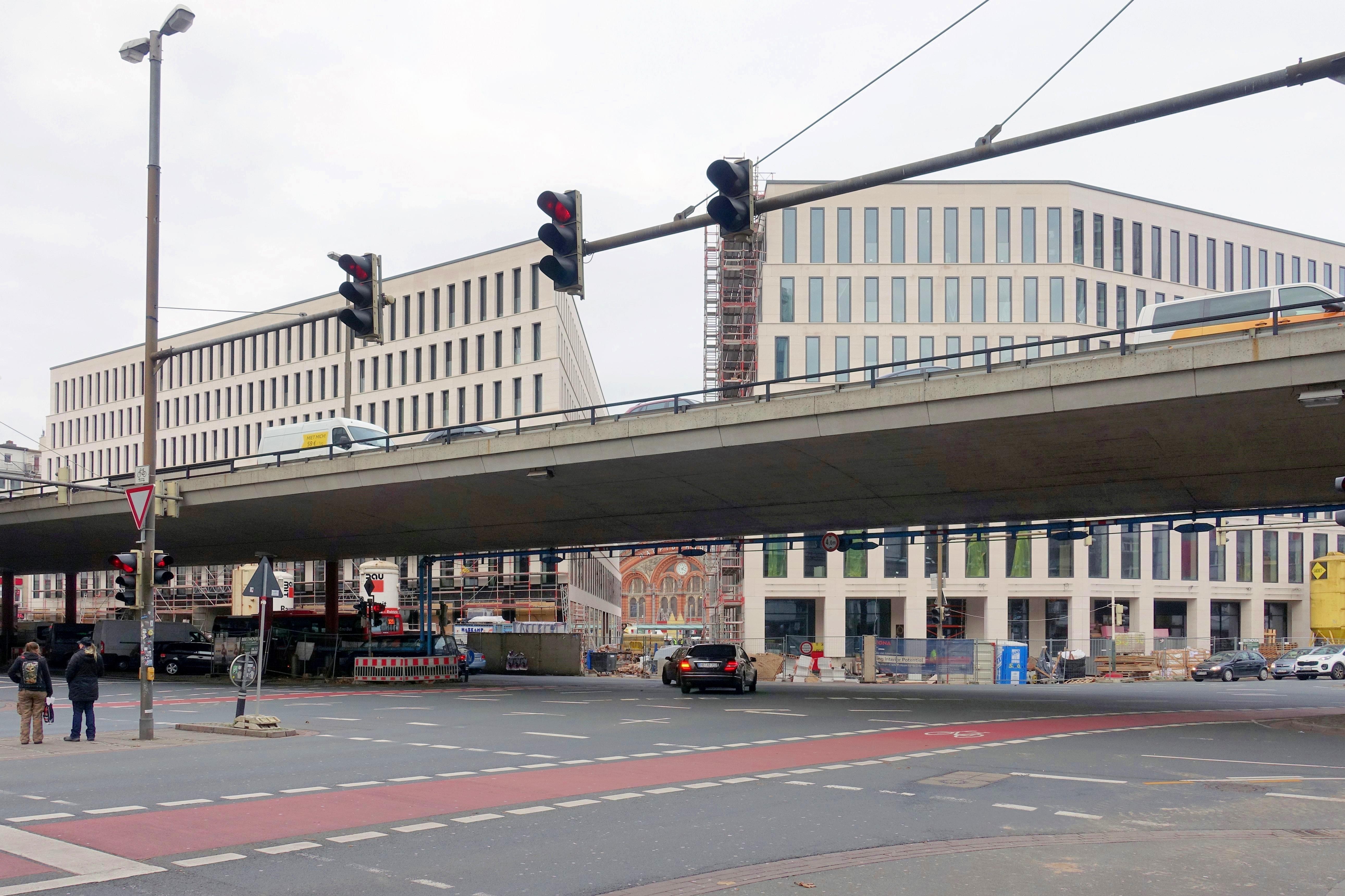 Baustelle Bahnhofsplatz 335