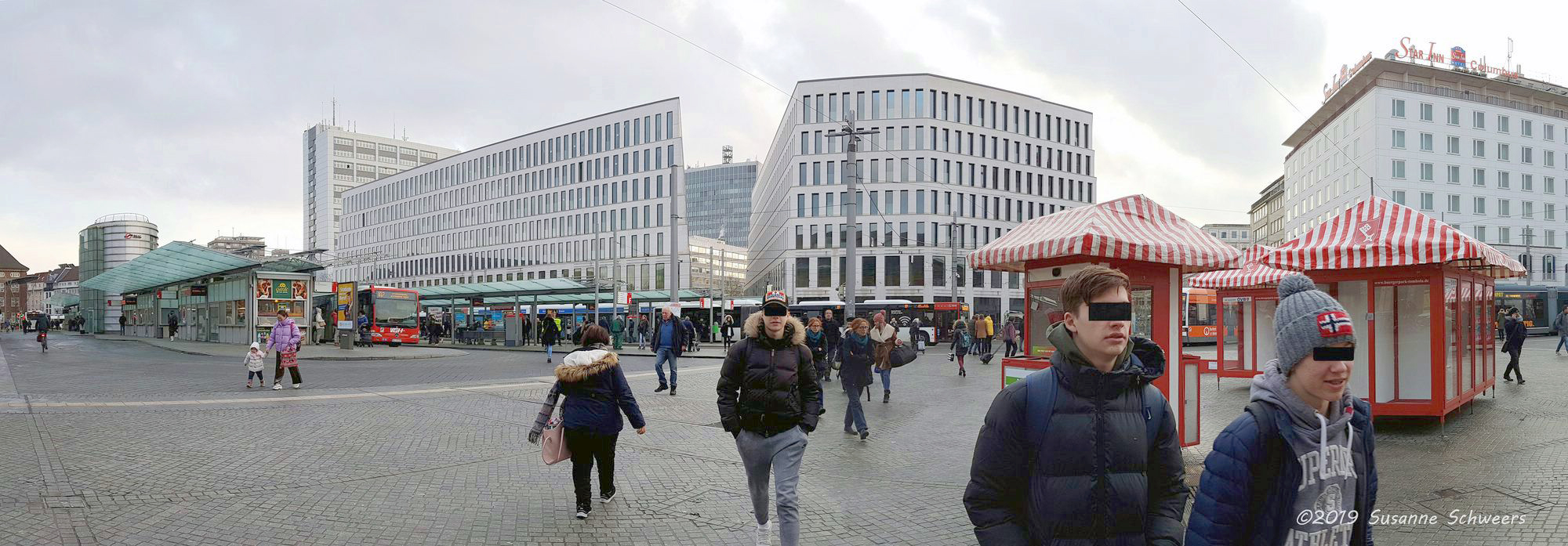 Baustelle Bahnhofsplatz 345